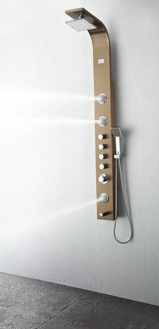 Fresca Geona Thermostatic Shower Massage Panel - FSP8009