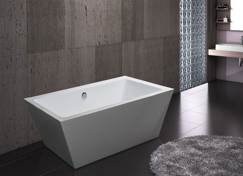 "AKDY 67"" Freestanding Soaking Bathtub ABTJL604"