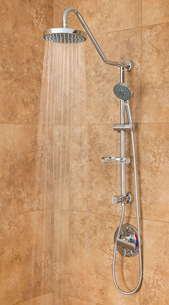 brushed nickel shower system. Pulse ShowerSpas Kauai III Shower System - Brushed Nickel T