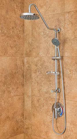 Pulse ShowerSpas Kauai III Shower System - Chrome