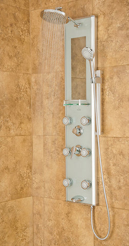 Pulse ShowerSpas Kihei II Shower Panel