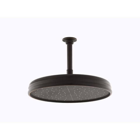 "Kohler 12"" Traditional Round Rain Showerhead - Oil-Rubbed Bronze"