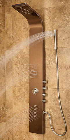 Pulse ShowerSpas Santa Cruz Shower Panel