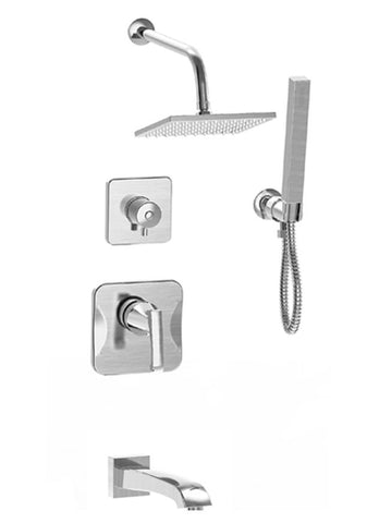 Shower with Tub Faucet SSB-581 by Parmir