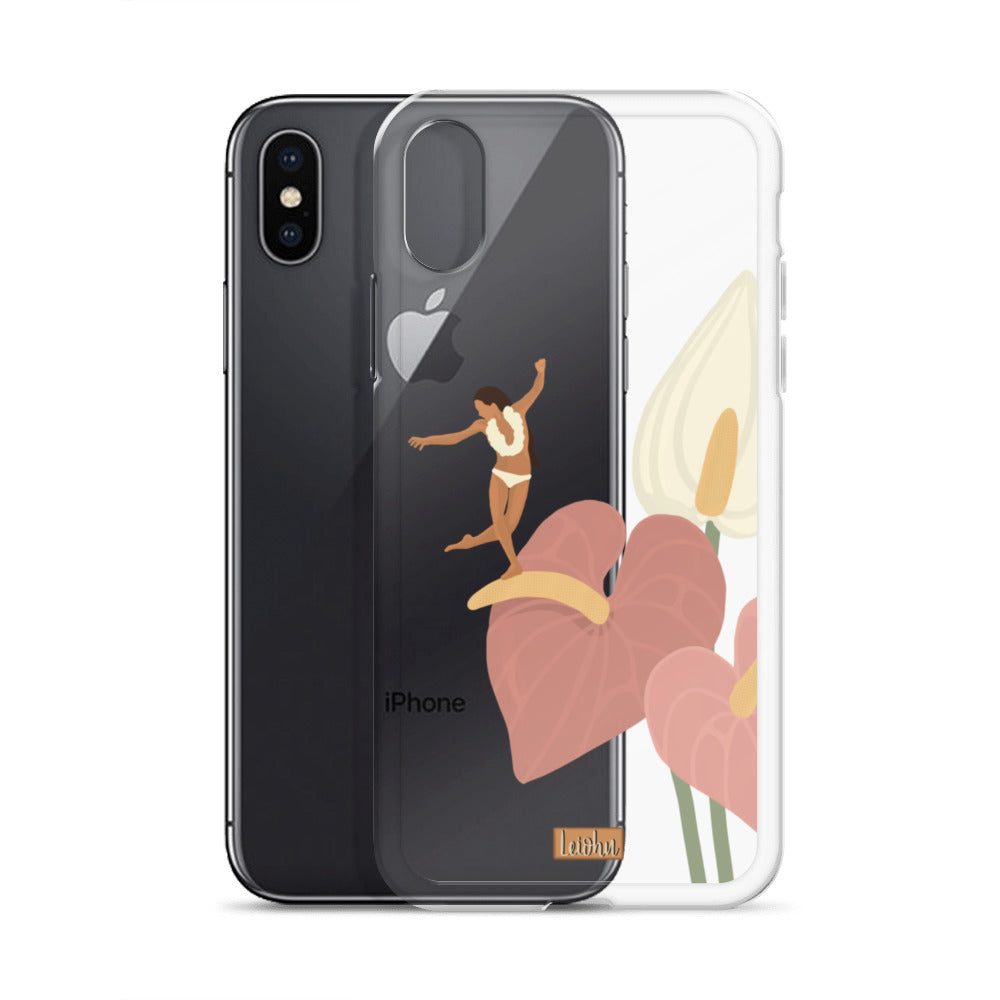 He'e Nalu - Anthurium - iPhone Case
