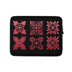 Open image in slideshow, Hawaiian Quilt - Laptop Sleeve