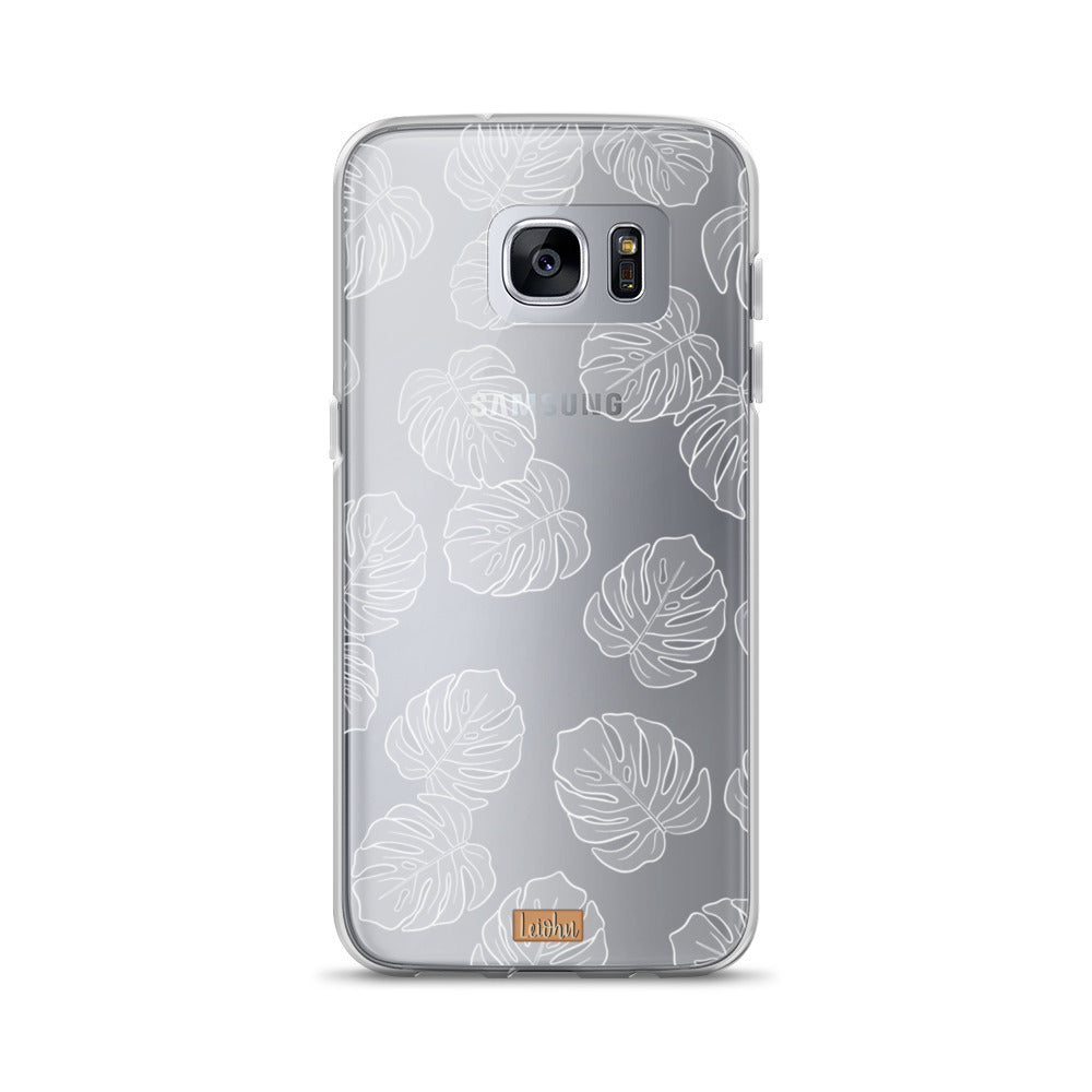 Monstera - Clear Case - Samsung
