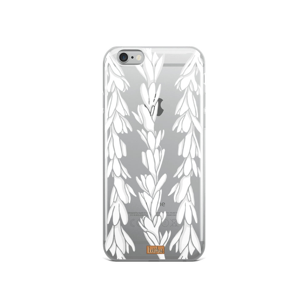 Tuberose Lei  - Clear Case