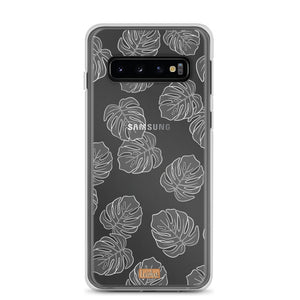 Open image in slideshow, Monstera - Clear Case - Samsung