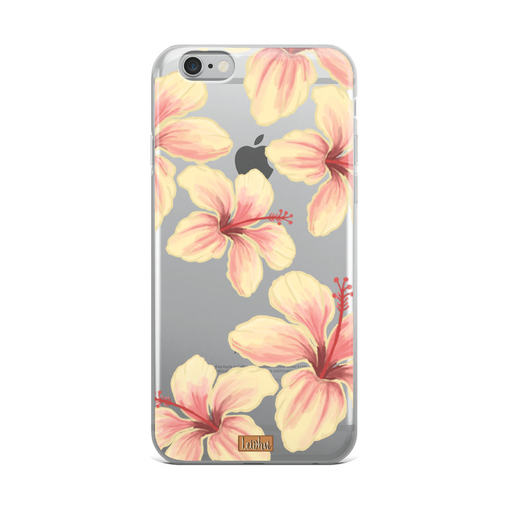 Hibiscus - Clear Case