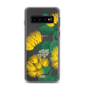 Open image in slideshow, 'Ōhi'a Lehua - Melemele - Clear Case - Samsung