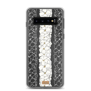 Open image in slideshow, Double Puakenikeni Lei - Clear case - Samsung