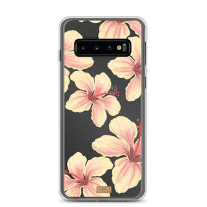 Open image in slideshow, Hibiscus - Clear Case - Samsung