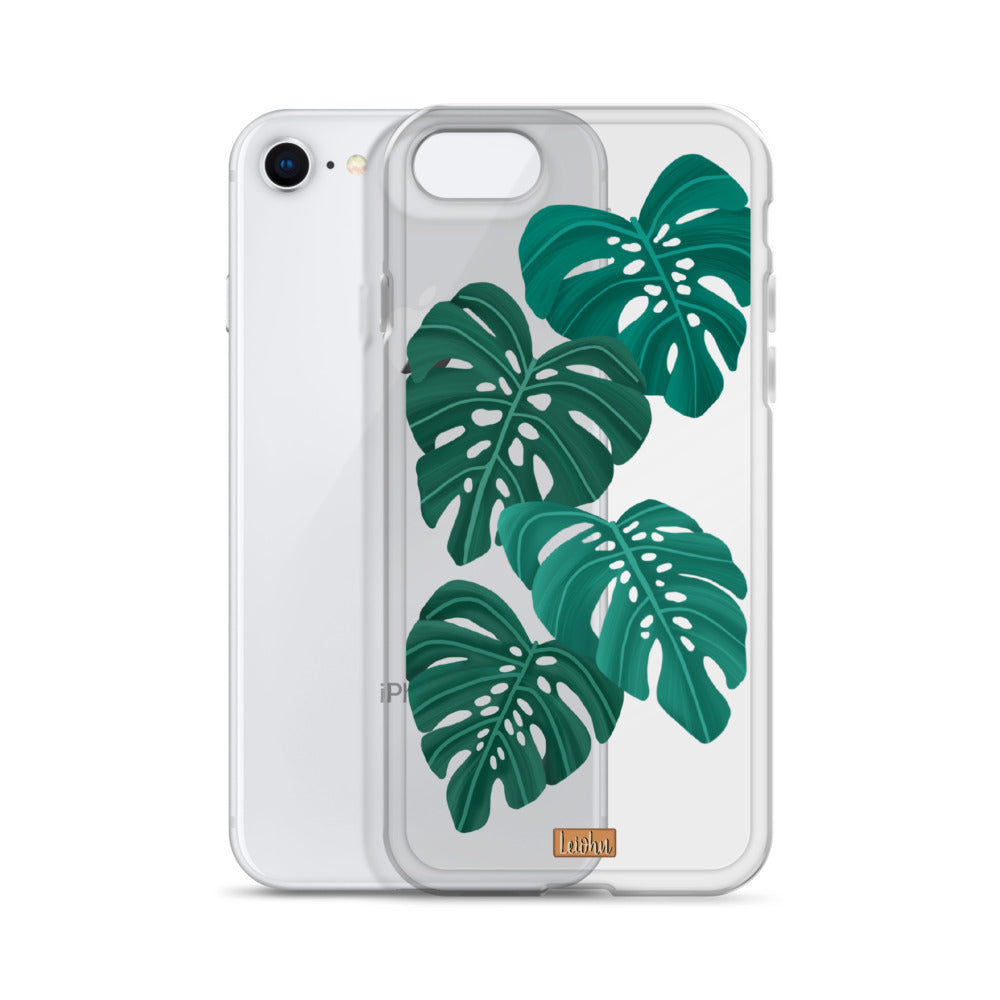 Monstera - Clear Case