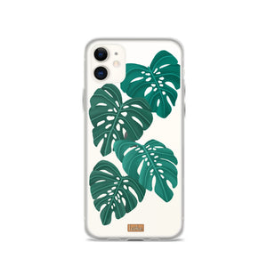 Open image in slideshow, Monstera - Clear Case