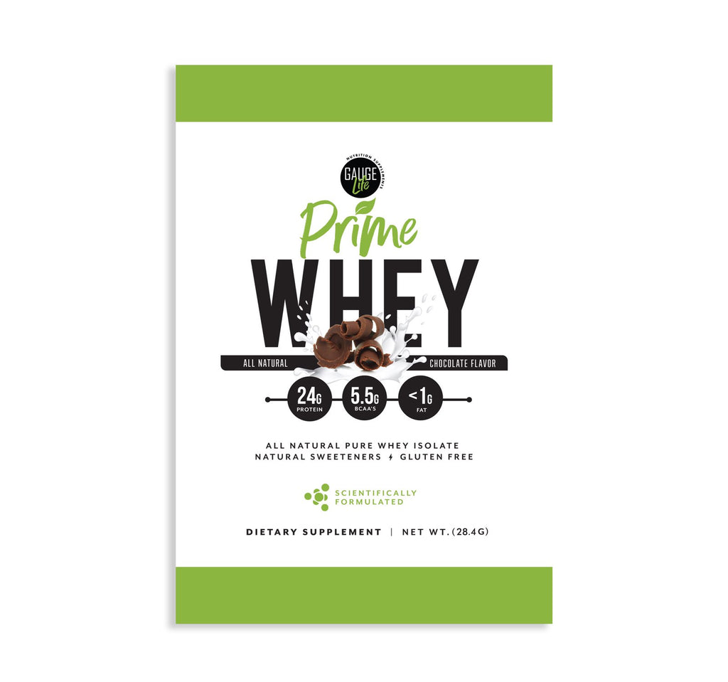 SAMPLE - Prime Whey Chocolate Protein