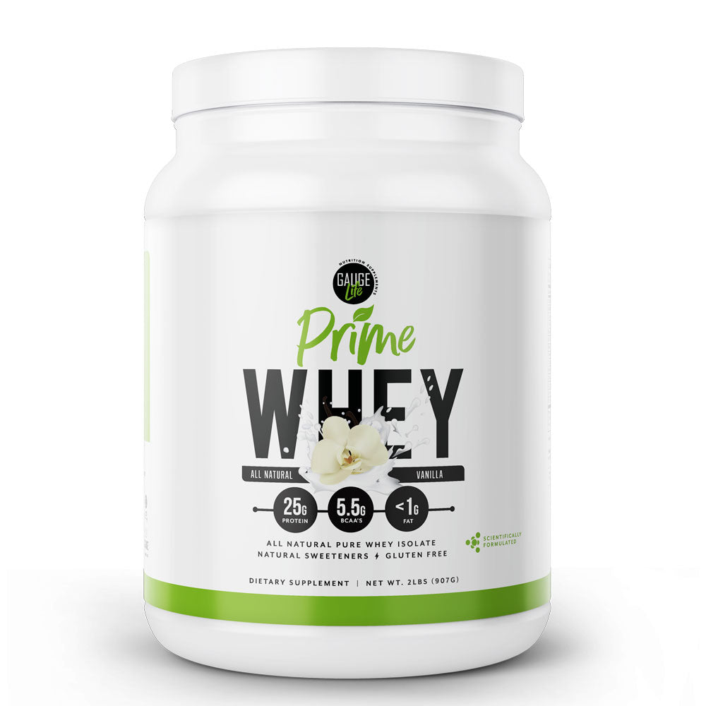 Prime All Natural Whey Vanilla