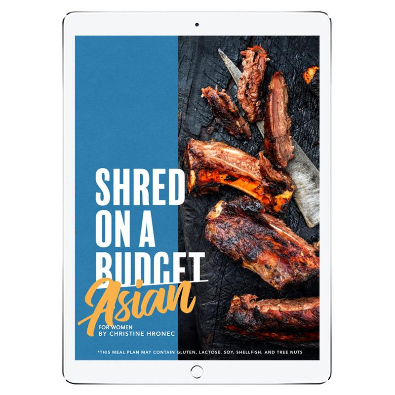 The 6WeekShred® - 6 Week Asian Budget Shred for Women
