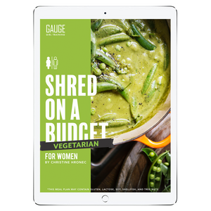 The 6WeekShred® - 6 Week Budget Vegetarian Shred for Women
