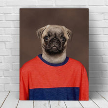 Load image into Gallery viewer, Red and Blue School Portrait