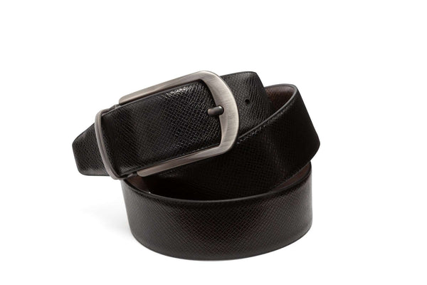 Reversible Textured Belts - Men Suits