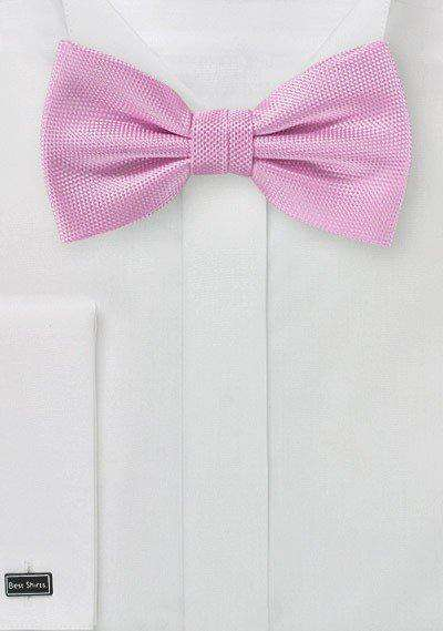 Carnation MicroTexture Bowtie - Men Suits