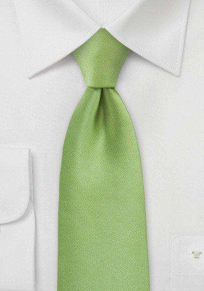 Green Tea Solid Necktie