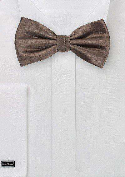 Chocolate Solid Bowtie
