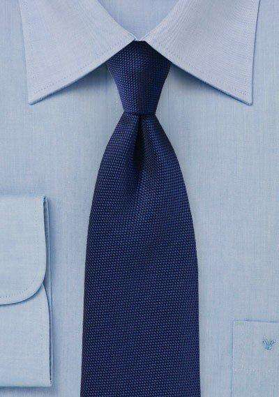 Menswear Navy MicroTexture Necktie - Men Suits