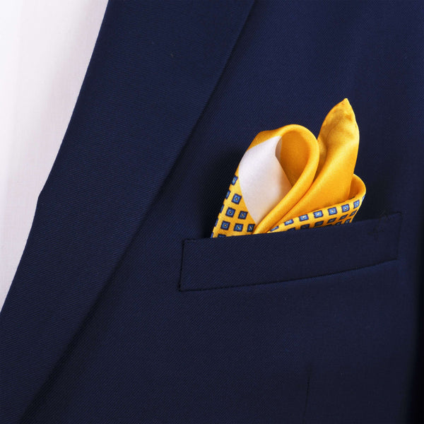 Clean Colors Pocket Square - Men Suits