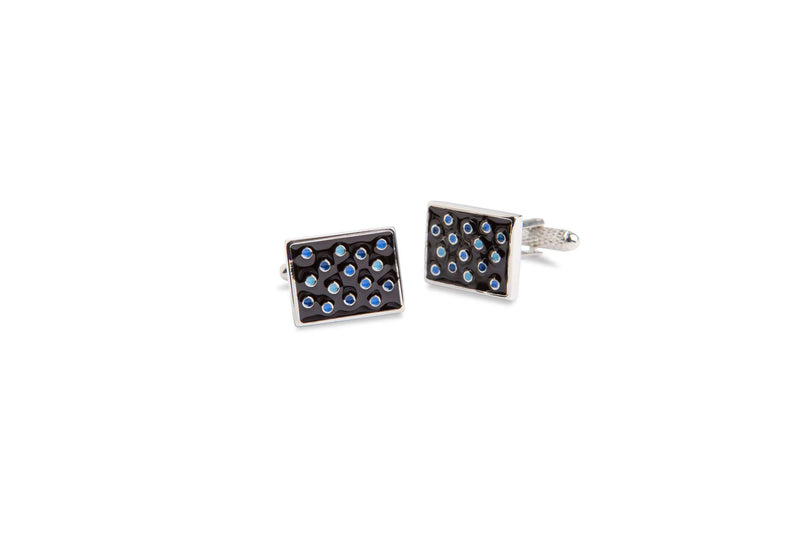 Dotted Square Cufflinks