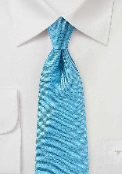 Cyan MicroTexture Necktie - Men Suits