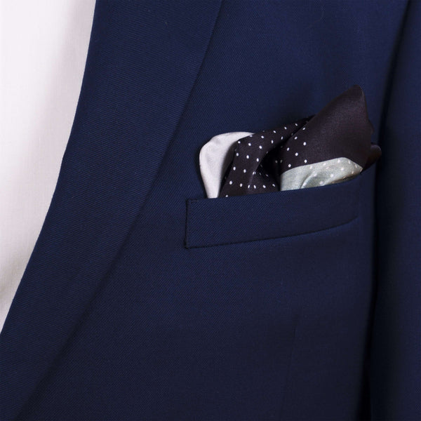 Dark Shades Pocket Square - Men Suits