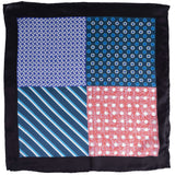 Dots and Stripes Pocket Square