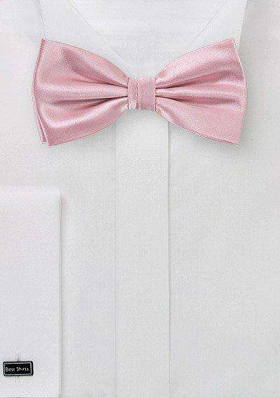 Dusty Rose Solid Bowtie - Men Suits