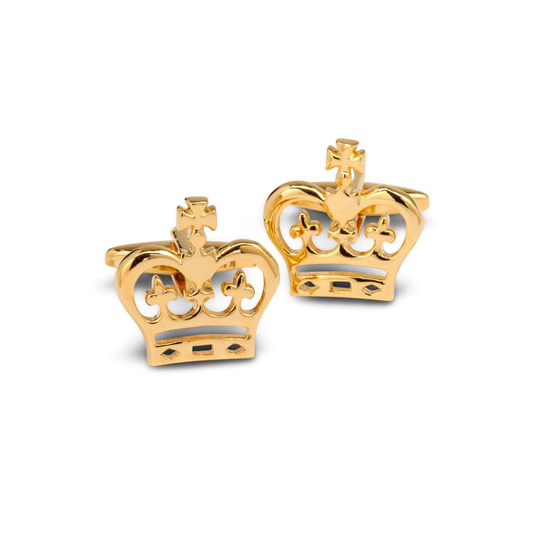 King's Crown Cufflinks - Men Suits