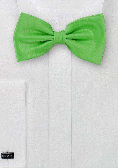 Grass Green Solid Bowtie