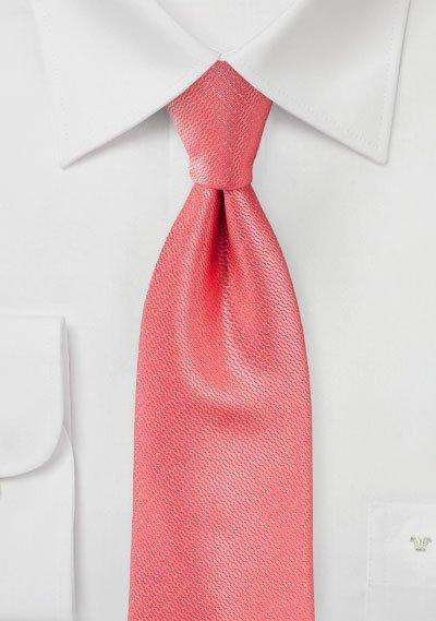 Coral Reef Small Texture Necktie