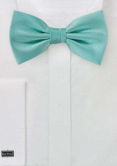 Mermaid MicroTexture Bowtie