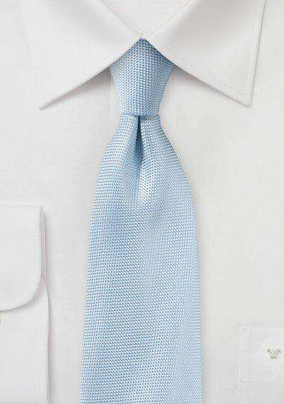 Powder Blue MicroTexture Necktie - Men Suits