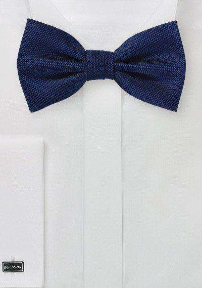 Menswear Navy MicroTexture Bowtie - Men Suits
