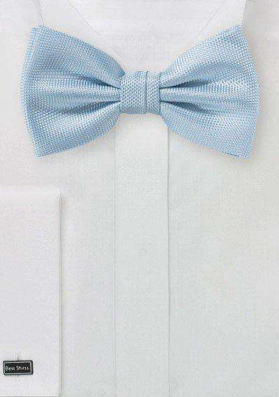 Powder Blue MicroTexture Bowtie