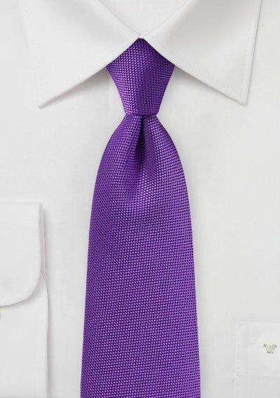 Violet MicroTexture Necktie - Men Suits