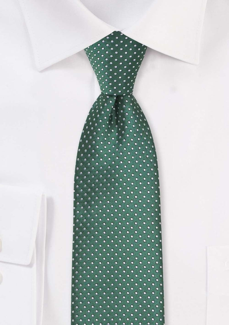 Hunter Pin Dot Necktie