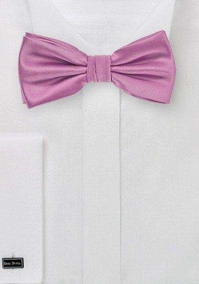 Orchid Solid Bowtie