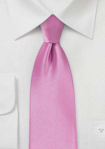 Bougainvillea Solid Necktie - Men Suits