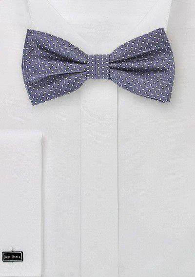 Wisteria Pin Dot Bowtie - Men Suits