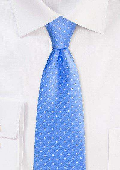 Costal Blue Polka Dot Necktie