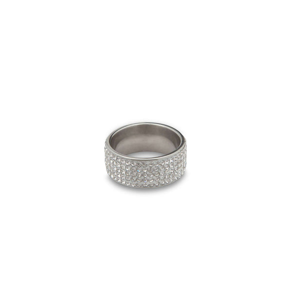 Diamond Bezzled Ring - Men Suits