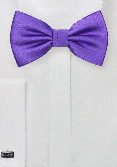 Freesia Solid Bowtie - Men Suits